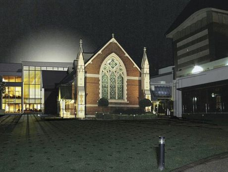 An artist's impression of the Toowoomba Regional Arts and Community Centre.