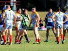 Wild scenes between Coffs and Macleay see league abandoned