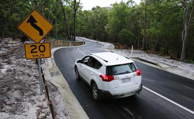 More than $1m has been spent on upgrading the notorious Kingfisher Hill on Fraser Island.