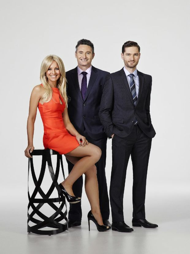 The Project hosts, from left, Carrie Bickmore, Dave Hughes and Charlie Pickering.