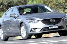 The new Mazda6 Sedan Sport.