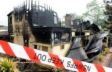 Fire at Uki Photo: John Gass / Daily News