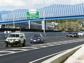 PEAK-HOUR Ipswich Motorway traffic was brought to a crawl following a crash at Goodna yesterday afternoon.