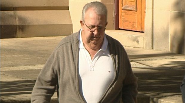 Yeppoon fraudster David Bruce McCartney leaving the Rockhampton courthouse. He has been sentenced to 9.5 years for scamming almost $1.4 million from nine people on the Sunshine Coast and Yeppoon.