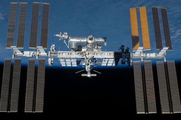 An image from NASA of the International Space Station