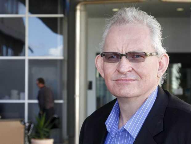 Wide Bay Hospital and Health Board chairman Dominic Devine.