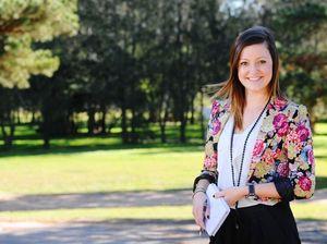 Daily Examiner journalist Georja Ryan.