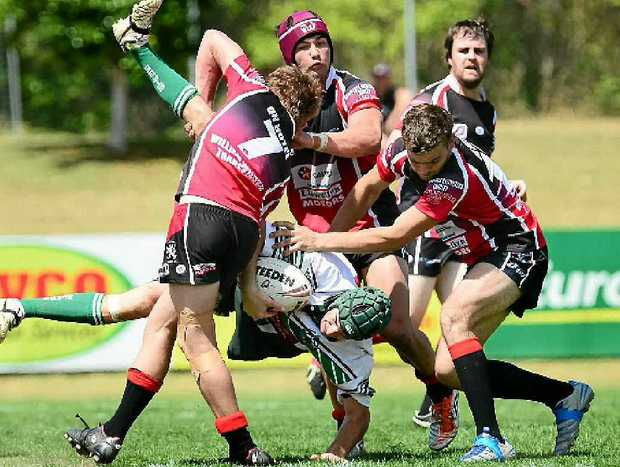 UNEASY ALLIANCE: Traditional rivals Lowood Tarampa and Laidley will form two-thirds of the merged valleys club under plans for a revamped Ipswich Rugby League senior competition structure in 2014.