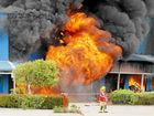 We Were There, Greenfields fire