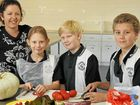 Class: Dig and eat school brings garden into the kitchen