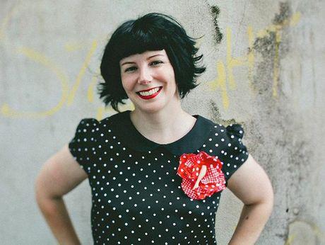 Priscilla Sutton, the creative mind behind the exhibition Spare Parts.