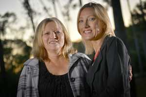 Rachael Ward and Karen Porter run Krystal Rose Event Planning in Gladstone. Photo Luka Kauzlaric / The Observer