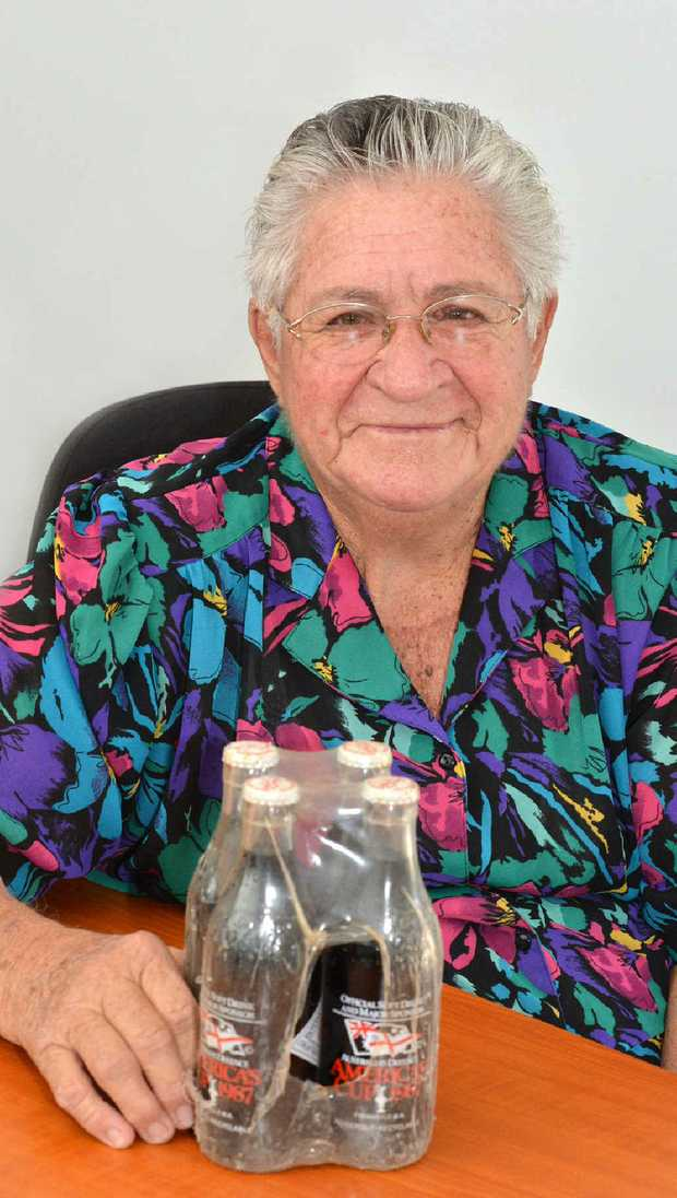 Norah Smith says her lucky Coke four-pack really does add life and her survival certainly is the real thing.