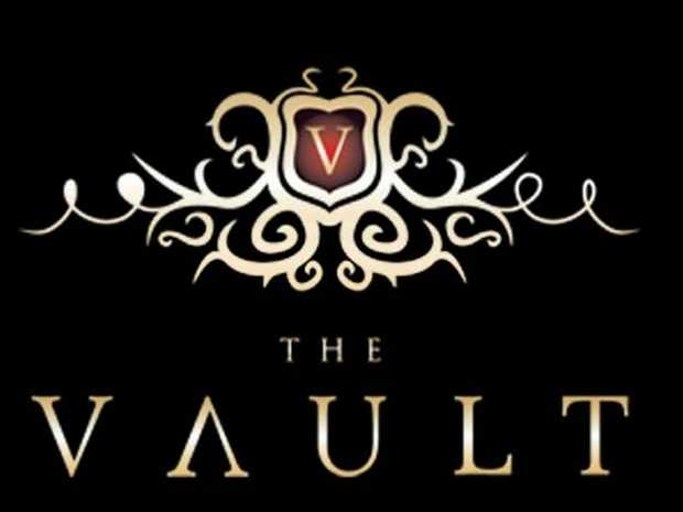 The logo of Toowoomba's new strip club The Vault on Ruthven.