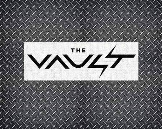 The logo for Toowoomba's newest gym The Vault