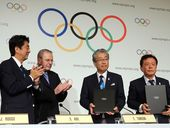 THOUSANDS of Tokyo residents face a bleary-eyed start to the week after weekend parties to celebrate the news that the city will host the 2020 Summer Olympics.
