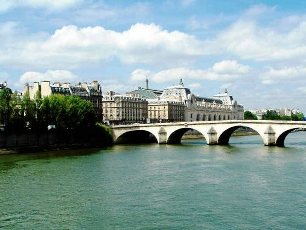 CITY OF HISTORY: The Seine splits Paris.