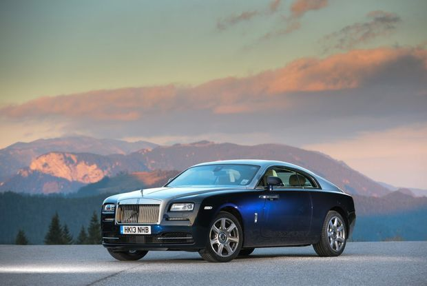 The two-door Rolls-Royce Wraith.