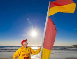 Byron lifeguards thanked for efforts in busy winter season