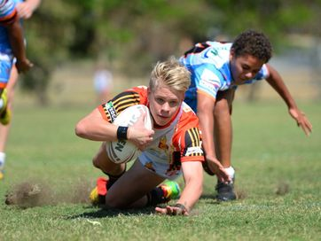The CQ NRL Bid U14 and U15 teams took on the Northern Pride at Victoria Park on Sunday afternoon.   Photos CHRIS ISON.