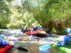 White water rafting in the heyday of the Nymboida Canoe Centre.