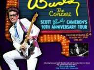 "In 2014, Buddy: The Concert, Cameron and his three-piece band will take you on ""one heck of a Rock 'N' Roll Party,"" Scott promises."