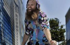 Tommy Franklin, the 'dancing man' of Byron Bay.