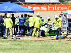 Race cars should only have one seat, inquest hears