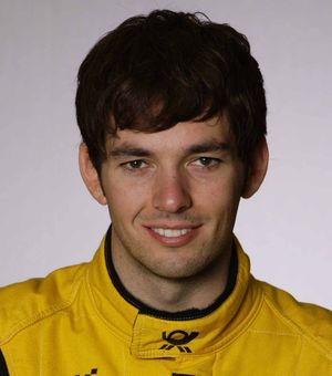 CRASH VICTIM: British racing driver Sean Edwards.