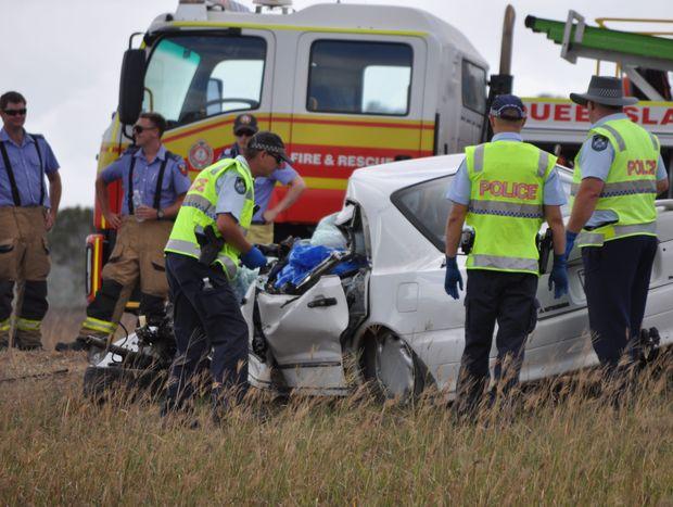 Car crash near Bowen ends in fatality.