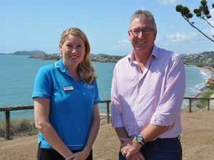Capricorn Enterprise CEO Mary Carroll and Chairman Graham Scott