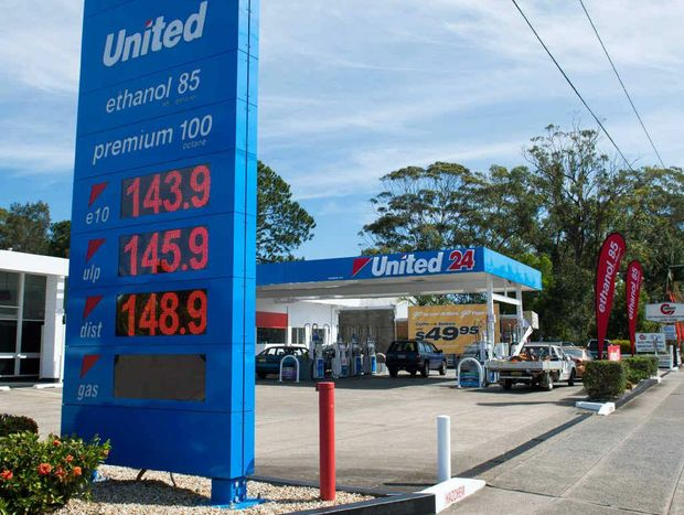 PETROL RELIEF: Petrol prices have fallen slightly following the opening of the new Coffs Harbour United Petroleum service station.