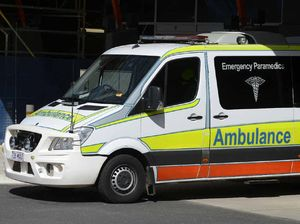 A man has been taken to hospital after a serious car crash on the D'Aguilar Highway