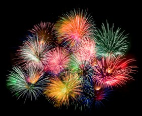 Fireworks are coming to Queens Park this New Year's Eve.