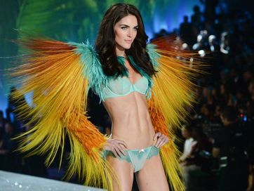 Victoria's Secret Angel Candice Swanepoel wore the $10 million Fantasy Bra during the 2013 Victoria's Secret Fashion Show.