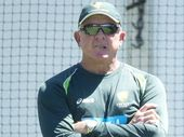 IPSWICH-bred national assistant coach Craig McDermott was straight back to work yesterday after sharing in Australia's Ashes cricket triumph.