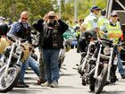 A FORMER bikie will spend a year behind bars for threatening to unleash his fellow Black Uhlans motorcycle gang members on a man if he did not hand over $20,000