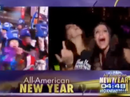 Revellers swear on live television