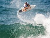 SURFING: Coolum Beach's Julian Wilson says he's not fazed by the intense focus of the surfing world.