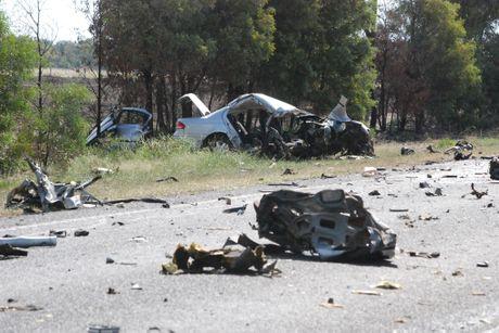 Car Crash Near Chinchilla