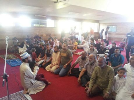Toowoomba's Muslim community meets for the first prayers held at the city's first mosque in South Toowoomba.