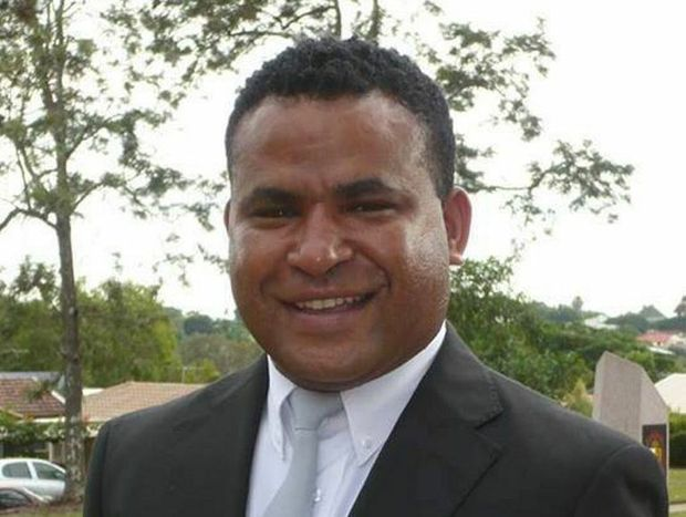 Edward Ekari, 33, was training to be a priest when he was killed in a car crash with a semi-trailer 27km west of Chinchilla on the Warrego Hwy on Monday.
