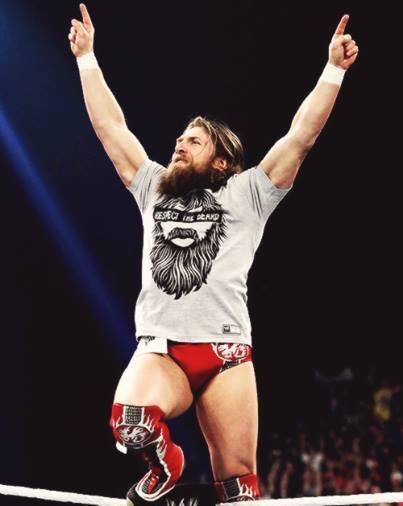 WWE superstar Daniel Bryan.
