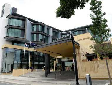 TWO Lowood men have appeared in court accused of breaking into a middle-aged man's and beating him with a baseball bat.