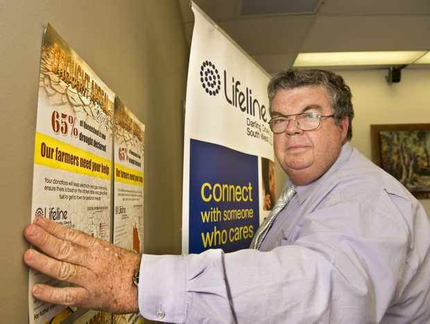 Derek Tuffield launches the 2014 Lifeline Drought Appeal.