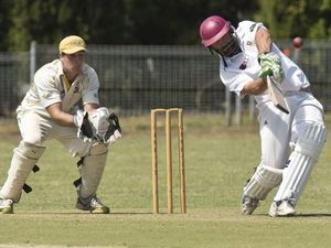 Cricket, Northern Brothers Diggers vs University. Photo Nev Madsen / The Chronicle