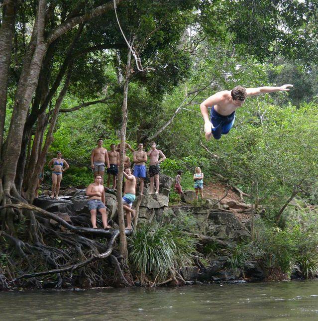 Gardner 39 S Falls At Maleny Sunshine Coast Daily