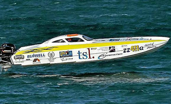 FAST PACED: Round 2 of the Offshore Superboat Championships will be coming to Bowen in June. Photo Andrew Gricks
