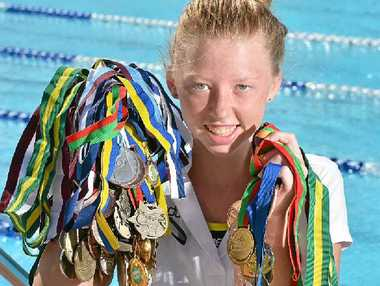 "INSPIRING ATHLETE: Lakeisha ""Lucky"" Patterson has faced many obstacles on her way to becoming a successful Australian Title swimmer."
