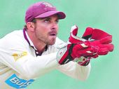 CHRIS Hartley first pulled on the wicket-keeping gloves in a Sheffield Shield game in 2003.
